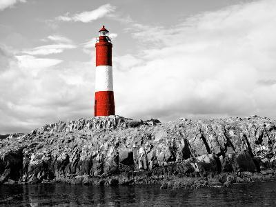 Lighthouse Border-Anna Coppel-Photographic Print