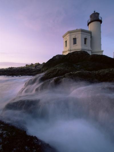 Lighthouse, Brandon, Oregon, United States of America, North America-Colin Brynn-Photographic Print