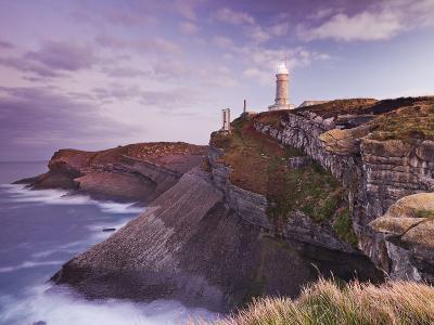 Lighthouse Cabo Mayor Near Santander, Kantabrien, Spain-Rainer Mirau-Photographic Print