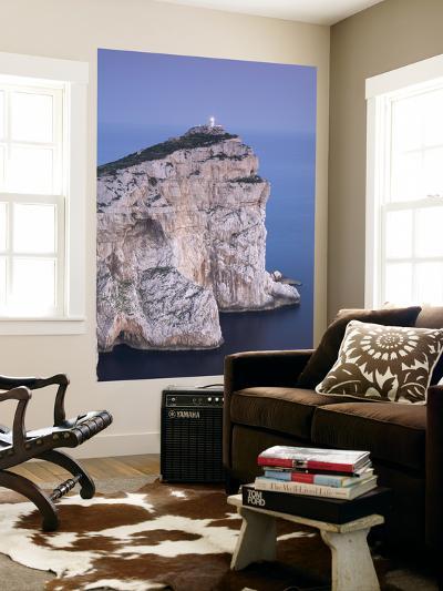 Lighthouse, Capo Caccia, Sardinia, Italy-Doug Pearson-Wall Mural