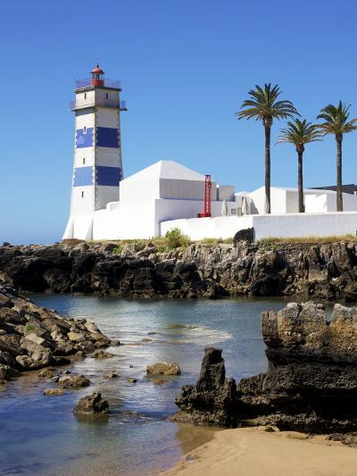 Lighthouse, Cascais, Portugal, Europe-Jeremy Lightfoot-Photographic Print