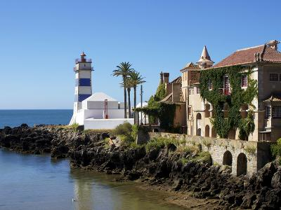 Lighthouse, Cascais, Portugal, Europe-Jeremy Lightfoot-Photographic Print