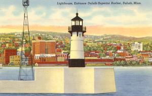 Lighthouse, Duluth Harbor, Minnesota