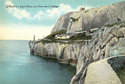 Lighthouse, Gibraltar--Art Print