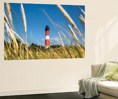Lighthouse, Hörnum, Sylt Island, Northern Frisia, Schleswig-Holstein, Germany-Sabine Lubenow-Wall Mural