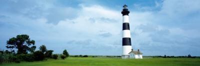 Lighthouse in a Field, Bodie Island Lighthouse, Bodie Island, North Carolina, USA