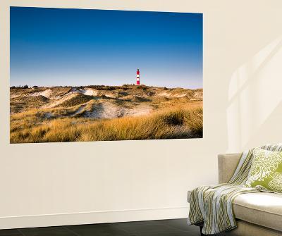 Lighthouse in the Dunes, Amrum Island, Northern Frisia, Schleswig-Holstein, Germany-Sabine Lubenow-Wall Mural