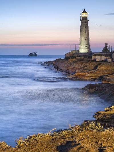 Lighthouse in Twilight-sergejson-Photographic Print
