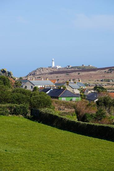 Lighthouse, Isles of Scilly, England, United Kingdom, Europe-Robert Harding-Photographic Print