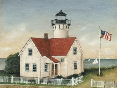 Lighthouse Keepers Home-David Carter Brown-Art Print