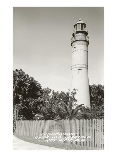 Lighthouse, Key West, Florida--Art Print