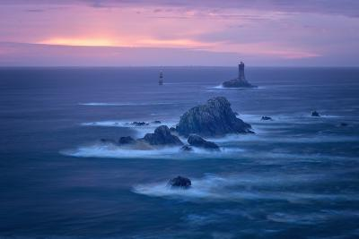 Lighthouse La Vieille, Bretagne, France-Philippe Manguin-Photographic Print