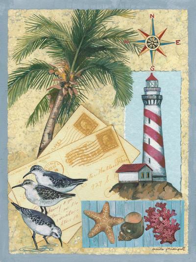 Lighthouse Letters-Anita Phillips-Art Print