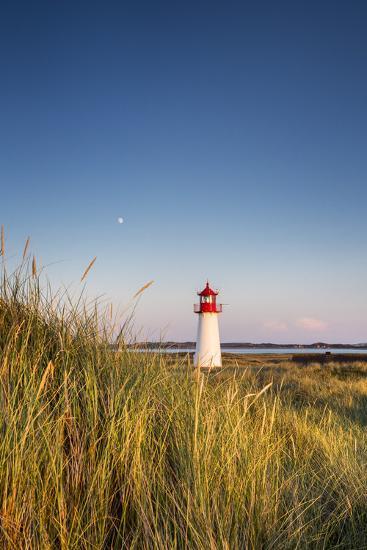 Lighthouse List West, Sylt Island, Northern Frisia, Schleswig-Holstein, Germany-Sabine Lubenow-Photographic Print