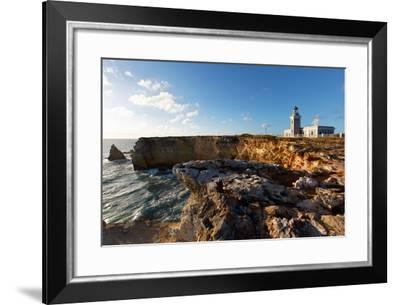 Lighthouse Los Morrillos, Puerto Rico-George Oze-Framed Photographic Print