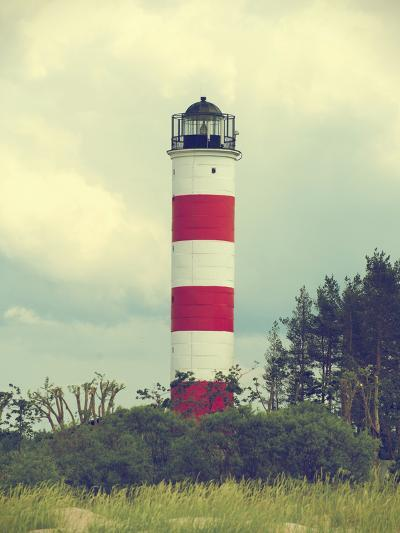 Lighthouse near Border of Estonia and Russia.- dmitrimaruta-Photographic Print