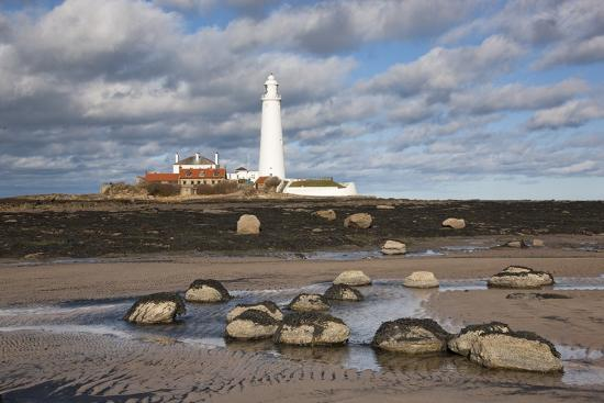 Lighthouse, Northumberland, England-Design Pics Inc-Photographic Print