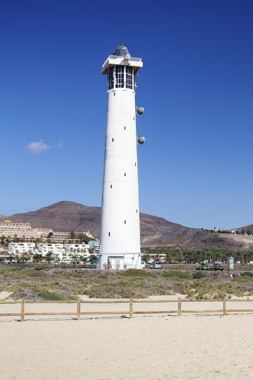 Lighthouse of Faro De Jandia, Jandia, Fuerteventura, Canary Islands, Spain, Atlantic, Europe-Markus Lange-Photographic Print
