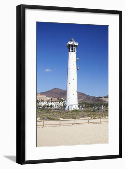 Lighthouse of Faro De Jandia, Jandia, Fuerteventura, Canary Islands, Spain, Atlantic, Europe-Markus Lange-Framed Photographic Print