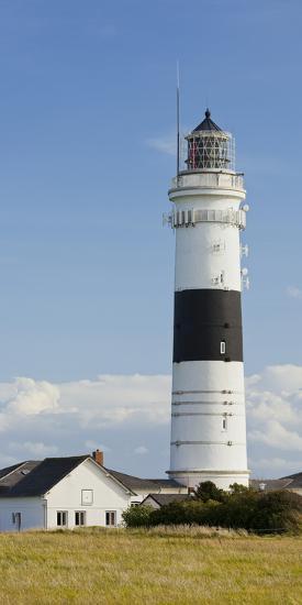 Lighthouse of Kampen (Municipality), Sylt (Island), Schleswig-Holstein, Germany-Rainer Mirau-Photographic Print