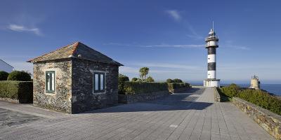 Lighthouse of Ortiguera, Asturias, Spain-Rainer Mirau-Photographic Print