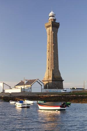 Lighthouse of Phare D'Eckmuhl, Penmarc'H, Finistere, Brittany, France, Europe-Markus Lange-Photographic Print