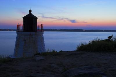 Lighthouse on a Rocky Shore.- andreiorlov-Photographic Print