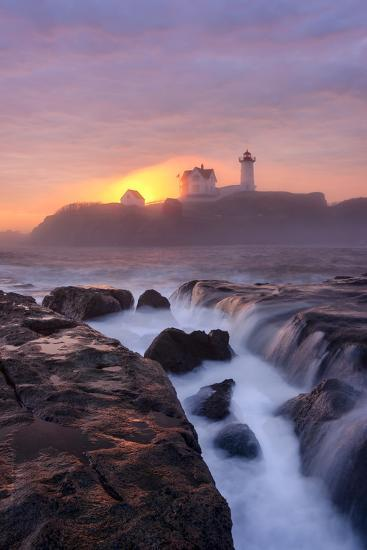 Lighthouse On Fire-Michael Blanchette Photography-Photographic Print