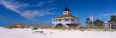 Lighthouse on the Beach, Port Boca Grande Lighthouse, Gasparilla Island State Park--Photographic Print