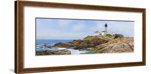Lighthouse on the Coast, Beavertail Lighthouse, Narragansett Bay, Jamestown Island