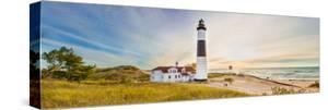 Lighthouse on the Coast, Big Sable Point Lighthouse, Lake Michigan, Ludington, Mason County