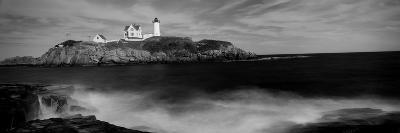 Lighthouse on the Coast, Nubble Lighthouse, York, York County, Maine, USA--Photographic Print