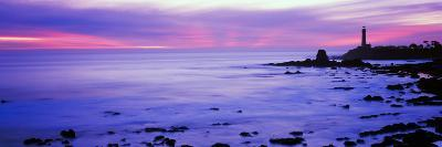 Lighthouse on the Coast, Pigeon Point Lighthouse, Pescadero, California, USA--Photographic Print