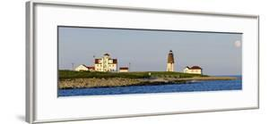 Lighthouse on the Coast, Point Judith Lighthouse, Narragansett Bay, Washington County