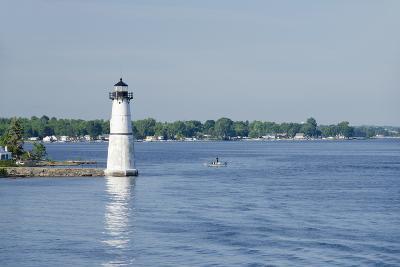 Lighthouse, St. Lawrence Seaway, Thousand Islands, New York, USA-Cindy Miller Hopkins-Photographic Print
