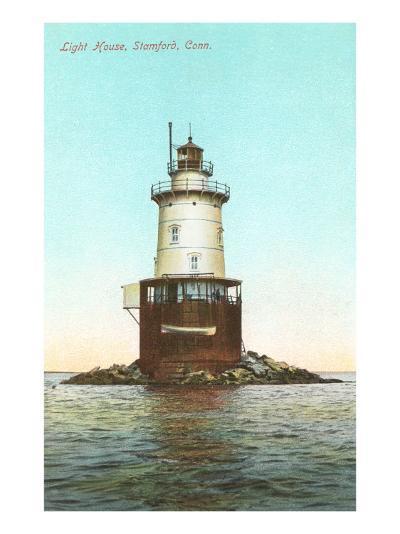 Lighthouse, Stamford, Connecticut--Art Print