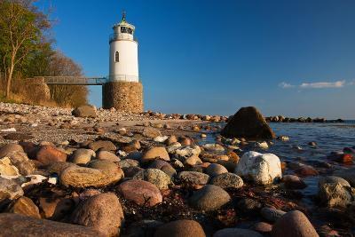 Lighthouse Taksensand, Alsen Island, Denmark-Thomas Ebelt-Photographic Print