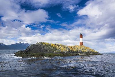Lighthouse , the Beagle Channel, Ushuaia, Tierra Del Fuego, Argentina, South America-Michael Runkel-Photographic Print