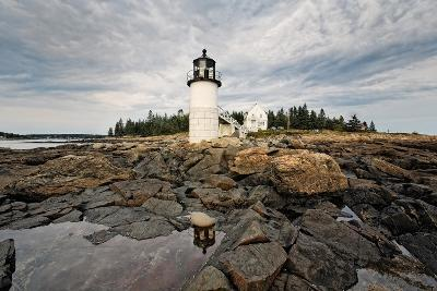 Lighthouse View, Port Clyde, Maine-George Oze-Photographic Print