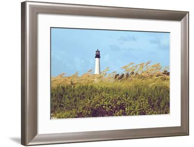 Lighthouse View-Gail Peck-Framed Photographic Print