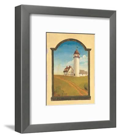 Lighthouse-Robert LaDuke-Framed Art Print