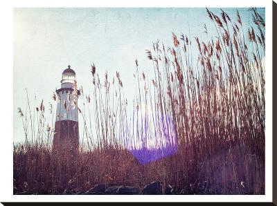Lighthouse-Mina Teslaru-Stretched Canvas Print