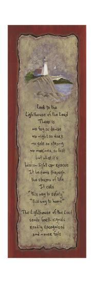 Lighthouse-Karen Tribett-Art Print