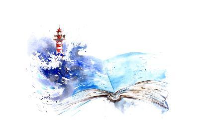 Lighthouse-okalinichenko-Art Print
