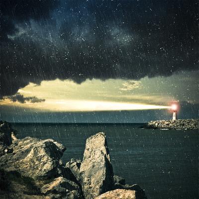 Lighthouse- adempercem-Photographic Print