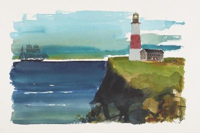 Lighthouse-Claus Hoie-Giclee Print