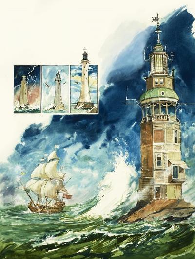 Lighthouses-Leo Davy-Giclee Print