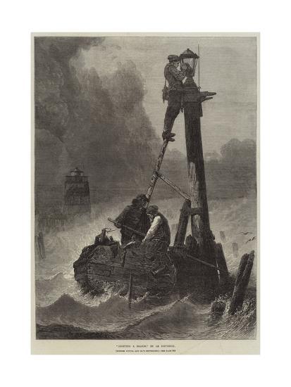 Lighting a Beacon--Giclee Print
