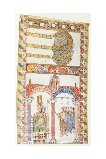 Lighting an Easter Candle, 10th C--Art Print
