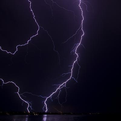 Lightning strike-Stuart Westmorland-Photographic Print